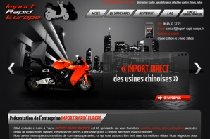 Site vente importation Motos