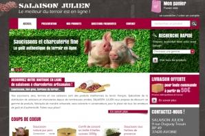 Site web Salaison Terroir