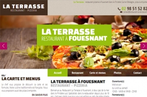 Création site Restaurant pizzeria bar La Terrasse
