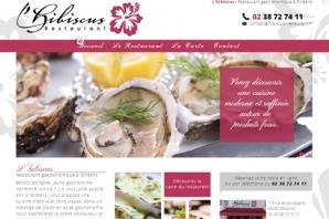 Création site web restaurant gastronomique