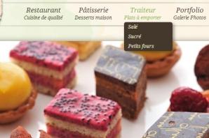 Site Internet Restaurant Traiteur Pâtisserie