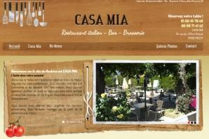 Site Internet Restaurant Pizzeria