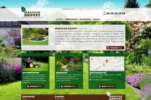 Création site Paysagiste Jardinier Horticulture - site de création paysagiste