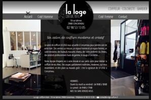 Création site web Salon de Coiffure Concarneau