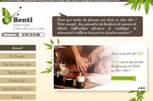 Site Internet de relaxation et réflexologie pour les femmes