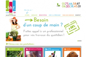 Site web Travaux du quotidien