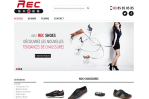 Site Internet Catalogue Chaussures