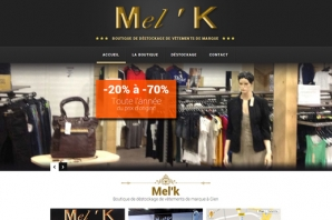 Site web Boutique de déstockage de vêtements de marque