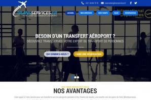 Création Site Internet Transport de Personnes - vtc -Transfert Aéroport