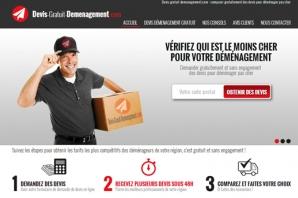 Création site web entreprise déménagement