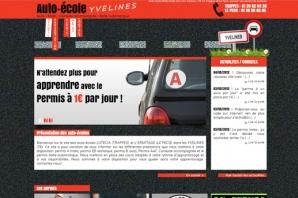 Site Internet Auto-école