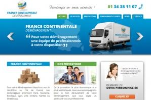Site France Déménagement Paris