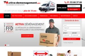 Site Internet société déménagement