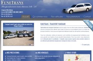 Site web Transport funéraire