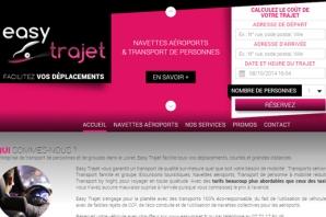 Site web Entreprise de transport de personnes et de groupes