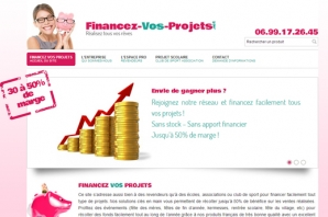 Site web Financement de projets