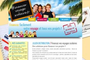 Création Site financement voyages
