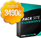 pack site ecommerce