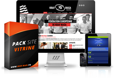 presentation pack site vitrine